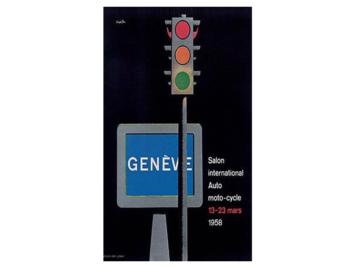 Erste Teilnahme am Genfer Automobilsalon